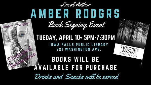 Iowa Falls Iowa Book Signing