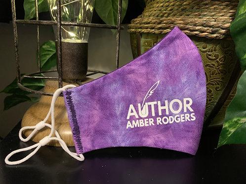 Purple Tie Dye Branded Mask