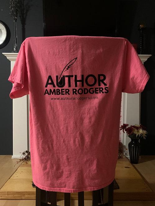 Pink Back Branded Short Sleeve T-Shirt