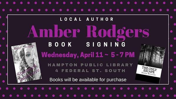 Hampton Iowa Book Signing