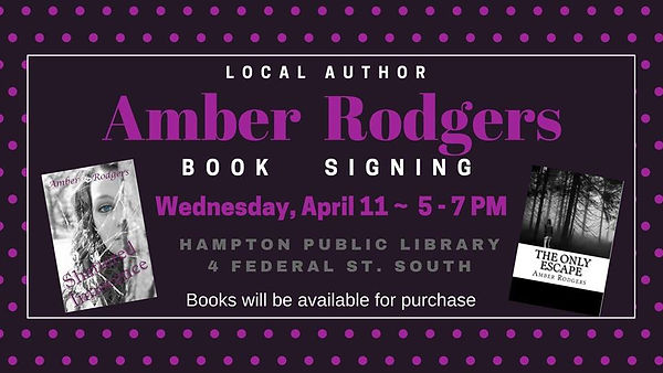 Hampton Iowa Book Signing