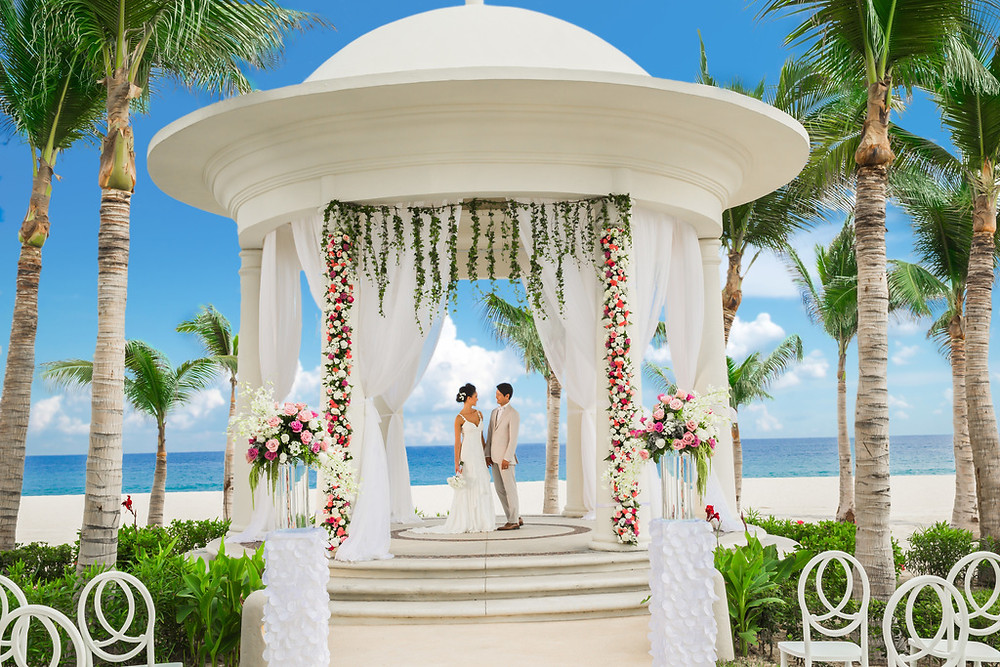 Wedding Gazebo, Hyatt Ziva - Los Cabos