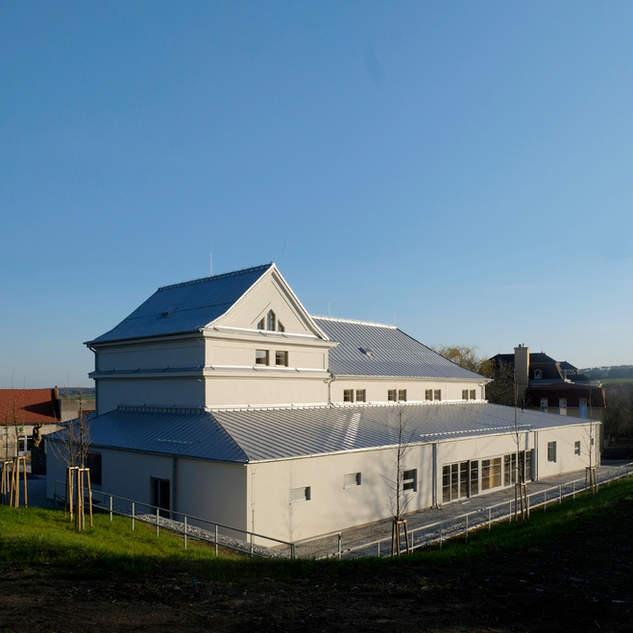 Rekonstrukce a přístavba sokolovny v Konici
