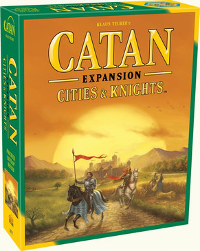 Settlers of Catan + Cities & Knights Expansion