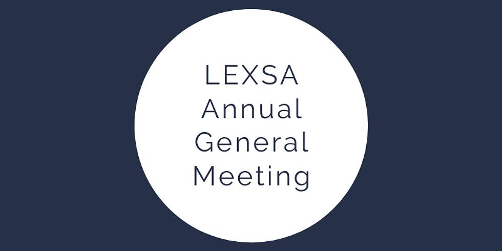LEXSA Annual General Meeting