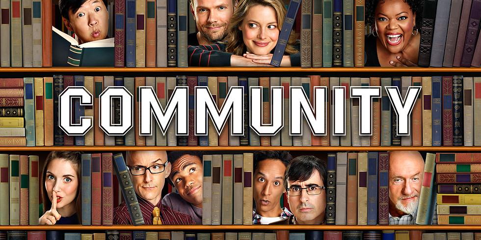 Community (Tv Show) S1E4-6 LEXSA Netflix Party plus $10 Coles voucher