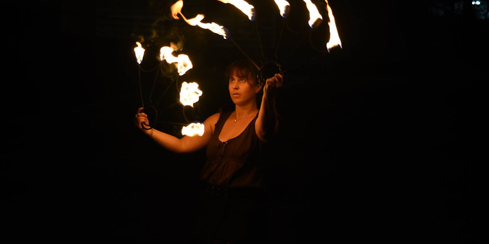 CANCLLED DUE TO COVID-19, Spin Fire & Flow Burn-Night/Workshop
