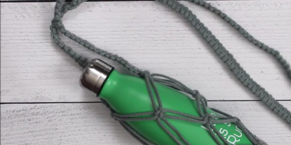 Giveaway: DIY Macrame Water Bottle Holder