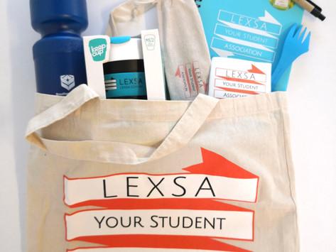 WIN LEXSA GOODIE BAG!