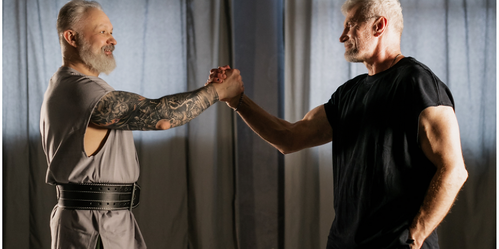 Online Empowerment Class: Self Defence for Men