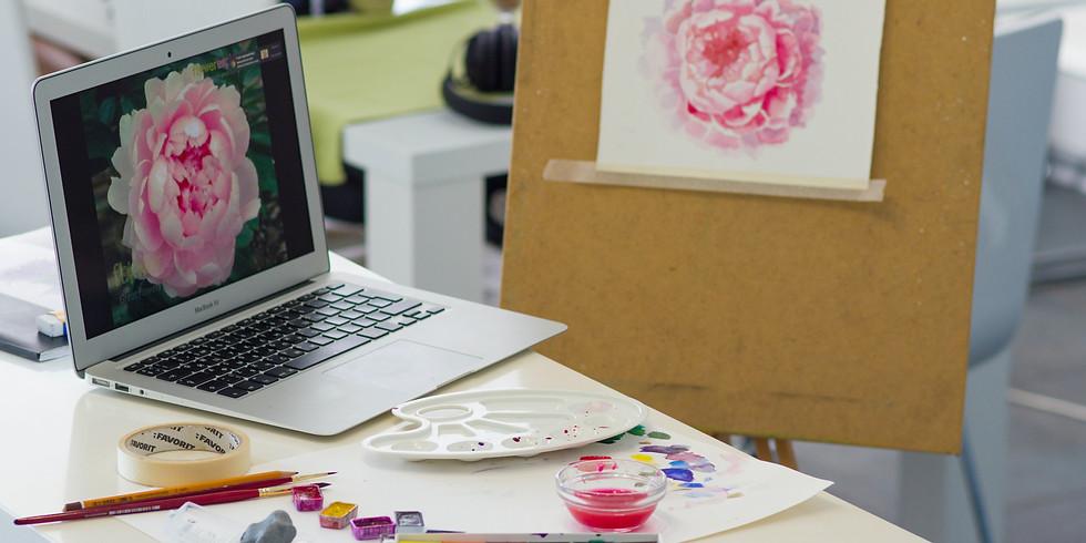 Paint with LEXSA Online Workshop