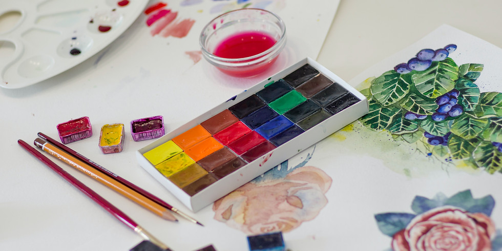 Paint with LEXSA Giveaway + Online Workshop