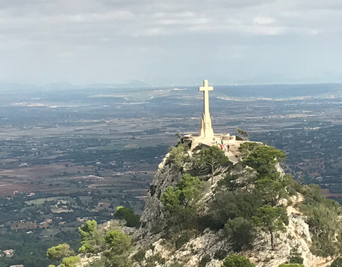 View from Sant Salvador