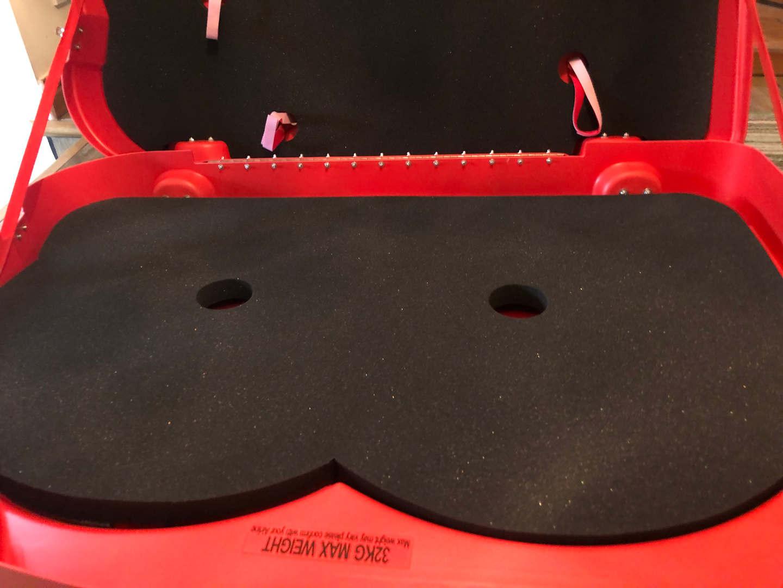 Bonza 2 Bike Box foam padding
