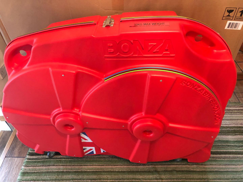 Bonza 2 Bike Box Front