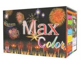 Torta Max Color 20 tubos  - Golden