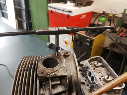 Zylinderkopf restaurieren