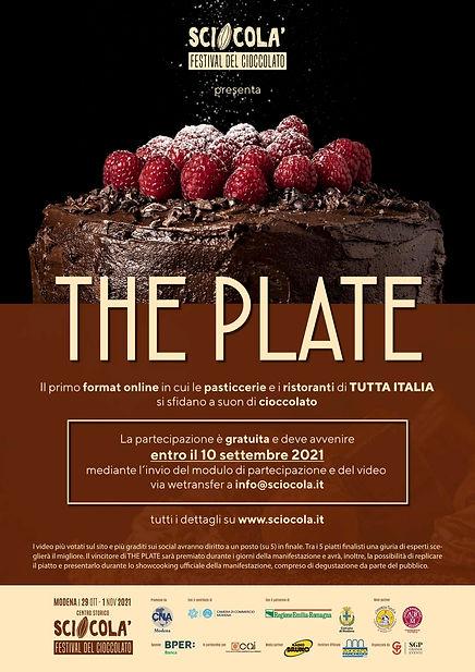 SCIOCOLA 2021 _ THE PLATE  _ LOCANDINA c