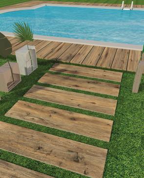 Savoiaitalia: Piastrelle da pavimento effetto Legno