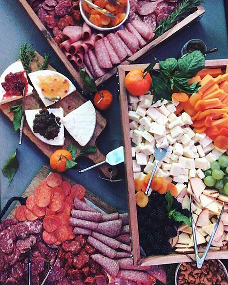Nothing excites us more than charcuterie