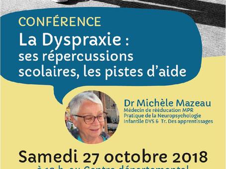 Conférence sur la dyspraxie