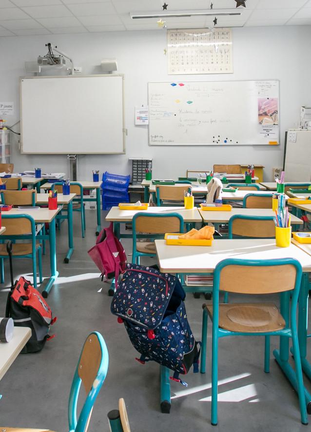 Une classe d'élémentaire