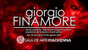 """SHFF Presenta: """"The Art Of Giorgio Finamore"""", Exposición de arte gótico y fantástico"""