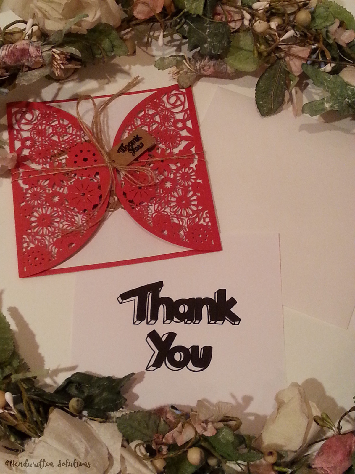 Handwritten Thank You Cards Handwritten Solutions Australia