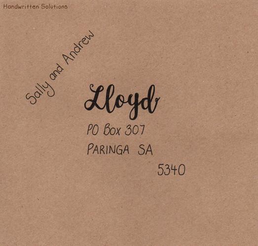Handwritten Envelope