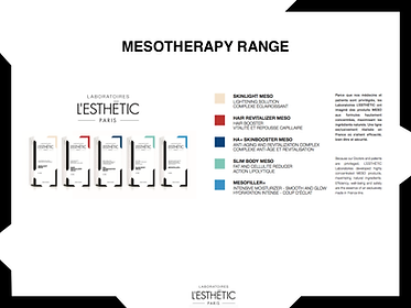 L'esthetic Meso Products