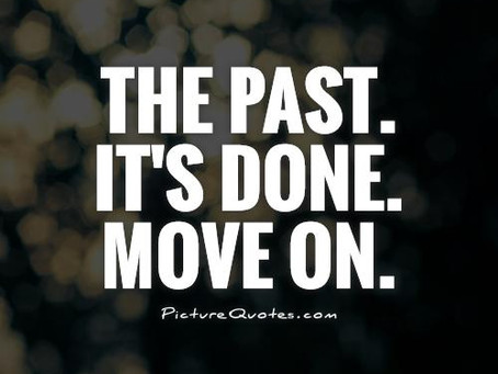 Why Keep Talking About the Past? Move on Already!