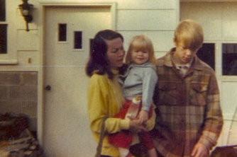 Mom, Me, and David