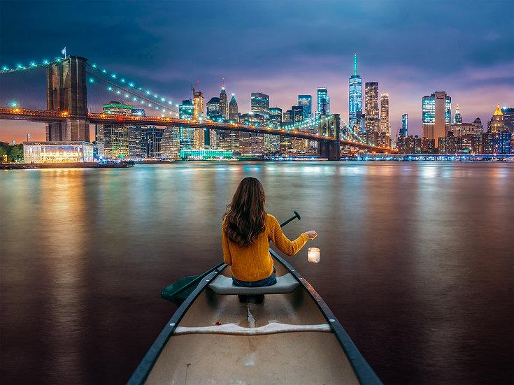 PREMIUM ALUMINUM DIBOND NYC Canoe