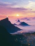 POSTER Sunrise in Brazil