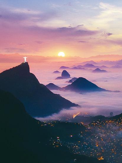 CANVAS Sunrise in Brazil