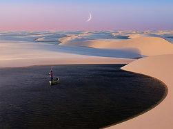 POSTER Brazil Desert Lagoon