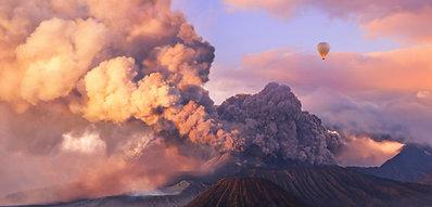 POSTER Mount Bromo Eruption
