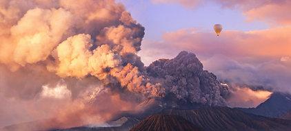 CANVAS Mount Bromo Eruption