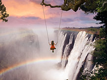 CANVAS Victoria Falls Swing