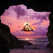 ACRYLIC GLASS ON ALUMINUM BASE Hanging Tent