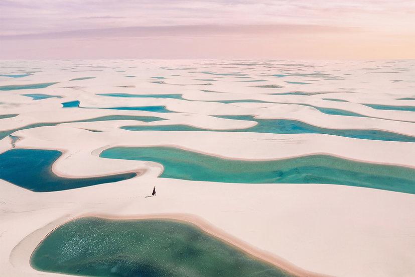 CANVAS Pastel Lagoon Desert