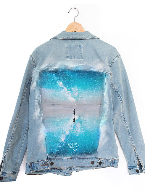 Jeans Jacket Milkey Reflection