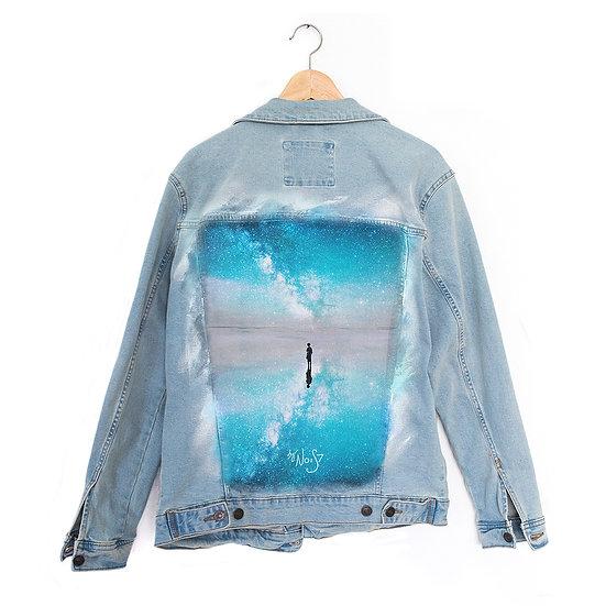 Jeans Jacket Milkey Reflection