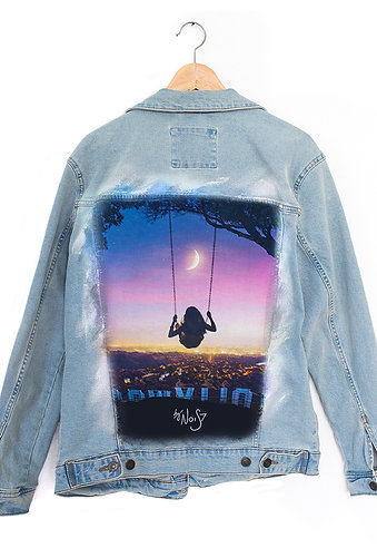 Jeans Jacket Hollywood Swing