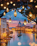 CANVAS Lanterns of Venice