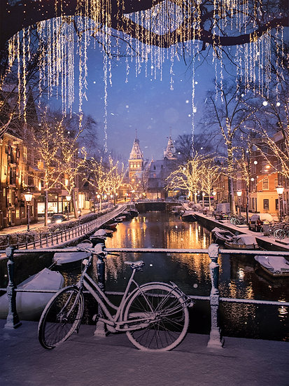 CANVAS Amsterdam Winter Nights