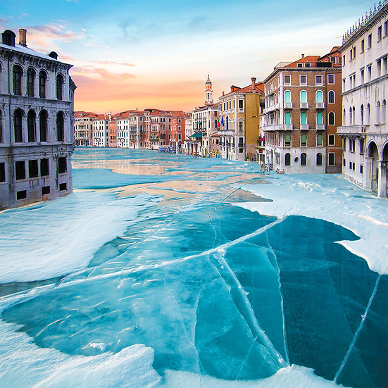 CANVAS Frozen Venice