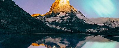 POSTER Matterhorn Aurora