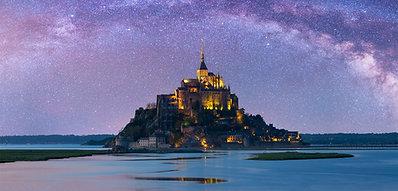 POSTER Starry Mont-Saint-Michel