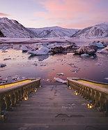 ACRYLIC GLASS ON ALUMINUM BASE Steps To Iceland